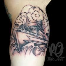 ol u0027 blue fish boat tattoo u2013