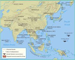 Asia Maps The British Empire In Asia