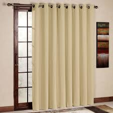 amazon com rhf wide thermal blackout patio door curtain panel