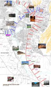 New Delhi Metro Rail Map by Metro Jaipur
