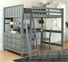Loft Bed With Futon And Desk Loft Bed With Futon Abode Metal Loft Bed