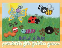 7 images free printable bug games printable bug file