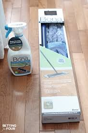 Can You Mop Hardwood Floors Deep Cleaning Your Hardwood Floors Setting For Four