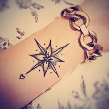 unique women tattoo cute small compass tattoo best couples