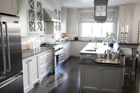 gray kitchen cabinets with black granite honed black granite transitional kitchen para paints