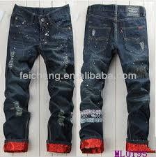 alibaba jeans jean pants garment apparel hot fancy denim unique design name men