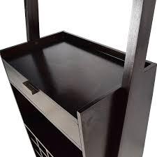 77 off crate and barrel crate u0026 barrel wine rack tables