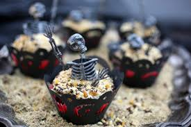 graveyard cupcakes evite