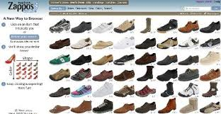 womens boots on sale zappos zappos introduces visual browsing feature econsultancy