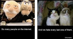 Grumpy Cat Snow Meme - grumpy cat and sesame street haters grumpy cat know your meme