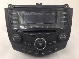 nissan versa xm radio accord coupe 2003 cd6 xm dual ac premium radio 7fy1 7fy2 new blem