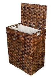 Laundry Hampers With Lid by Abaca Single Laundry Hamper