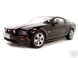 2005 Mustang Gt Black Diecast Ford Mustang 2005 Ford Mustang Diecast Model Black Gt 1