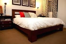 Bed Frames For Less Custom Bed Frames Custom Bed Frame For Less Than Dollars Custom