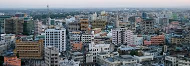 Google World Map With Country Names by Google Map Of Dar Es Salaam Tanzania Nations Online Project