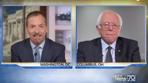 chuck todd doesn u0027t even bother to ask bernie sanders about the fbi