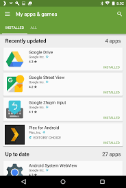 how to update apps android how to update all apps in android ask dave