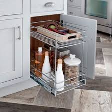 kitchen cabinet slide outs pull out cabinet organizers