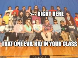 Evil Kid Meme - class picture day imgflip