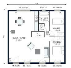 plan maison 2 chambres plain pied plan maison 2 chambres plan 2 plain pied plan de maison 2 chambres