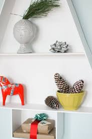 how to make a modern wooden tree display shelf curbly