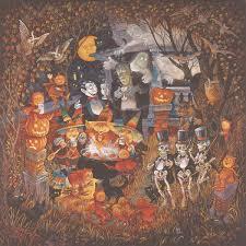 halloween in the usa monsters u0027 night out u003cbr u003e 1000 piece puzzle u003cbr u003e bill bell u003cbr