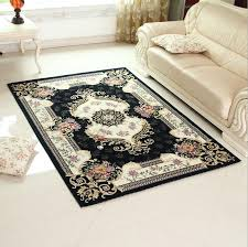Carpets And Area Rugs European Anti Skid Carpet Area Rug For Living Room Large Size