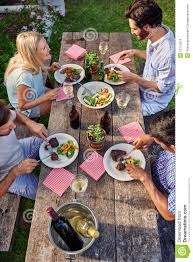 outdoor dinner party stock photo image 53115819