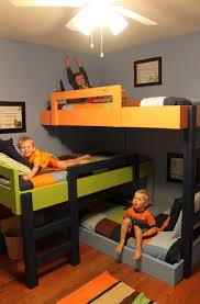 Three Level Bunk Bed 3 Person Bunk Bed U2013 Bunk Beds Design Home Gallery