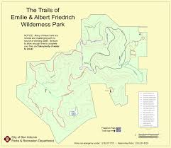 Texas Road Conditions Map Friedrich Wilderness Park Hikesa Org