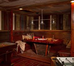 irish pub booth basement rustic with rustic traditional