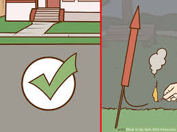 How To Light Fireworks 3 Ways To Be Safe With Fireworks Wikihow