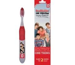 toothbrush packaging puts onedirection in your head we hear it