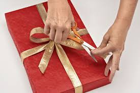 wrapping ribbon how to wrap a gift wrapping a present step by step