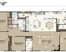 4 bedroom single wide commodore homes sensible three bedroom