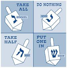 spin the dreidel hanukkah puzzles and activities for kids this
