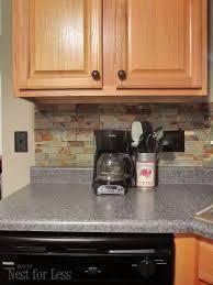 Black Stone Backsplash by Best Stone Kitchen Backsplash Ideas 8044 Baytownkitchen