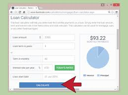 Novated Lease Calculator Spreadsheet How To Calculate Auto Loan Payments With Pictures Wikihow