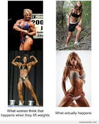 Woman Lifting Weights Meme - what happens when girls lift weights by ben meme center