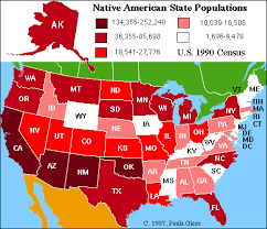 missouri map by population ethemes americans missouri tribes