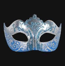 blue masquerade masks colombina stella silver sky blue masquerade mask vivo masks