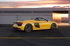 Audi R8 Upgrades - mileti industries 2017 audi r8 v10 spyder first test look and