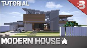 minecraft how to build modern beach house youtube
