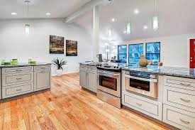 Kitchen Cabinets In Chicago Greige Maple Cabinets Planet Cabinets