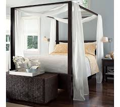 Draping Fabric Over Bed Best 25 Farmhouse Canopy Beds Ideas On Pinterest Beach Style