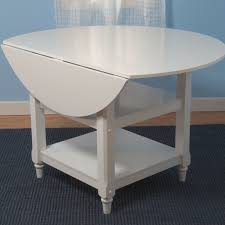 Kitchen Table With Fold Down Sides Kitchen Table Rectangular Round Drop Leaf Granite Assembled 8