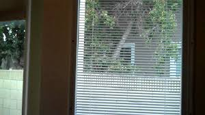 how to install internal blinds over existing door windows youtube