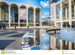Lincoln Center New York Map by Nyc Met Opera House At Lincoln Center Editorial Image Image