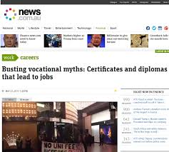 vocational education and training myths realities and the future
