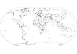 Blank Map Of Tectonic Plates by Science Story Resources And Links